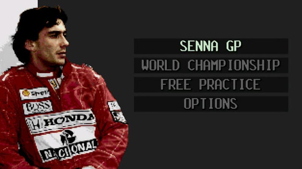 Os jogos do Ayrton Senna: Super Monaco GP 2 — Foto: Divulgação / blog da TecToy