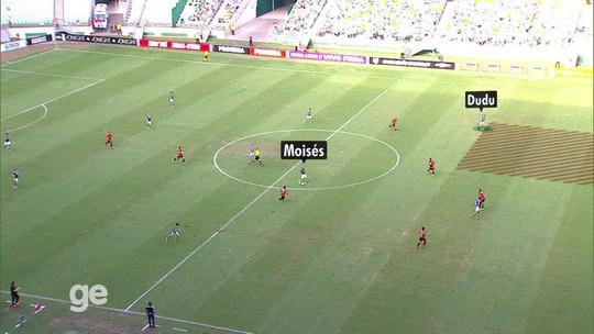 Com Felipe Melo ou Tchê Tchê? Veja onde Moisés pode se encaixar no Palmeiras atual