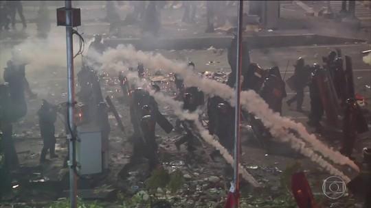 Polícia da Indonésia liga manifestações ao grupo Estado Islâmico