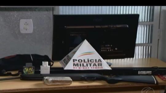 Adolescentes são apreendidos em Ituiutaba suspeitos de roubar e fazer família refém