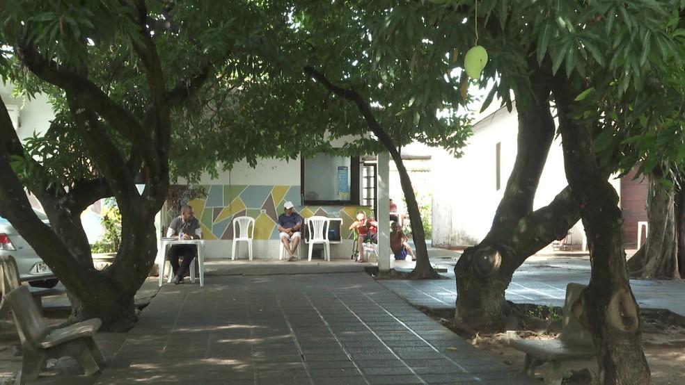 Abrigo de idosos no Recife restringiram visitas ao internos — Foto: Reprodução/TV Globo