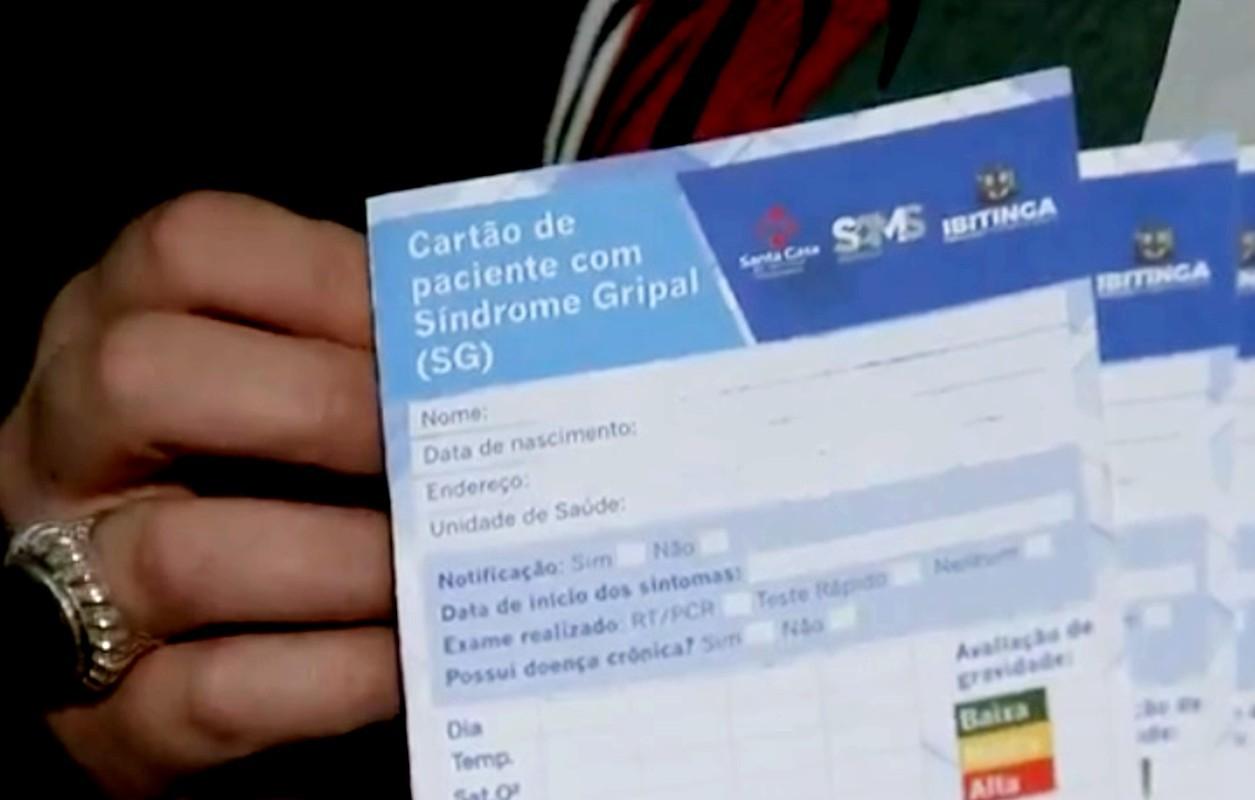 Ibitinga cria carteira para monitorar pacientes com suspeita de Covid-19