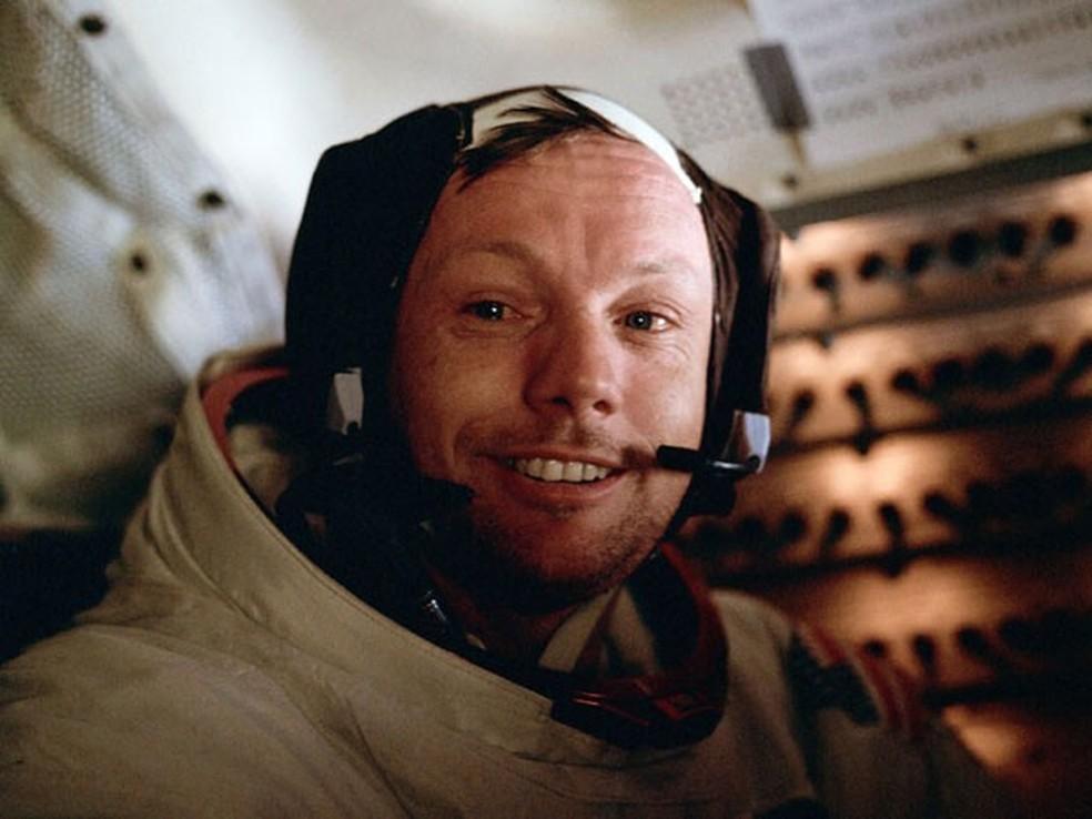 Neil Armstrong, morreu aos 82 anos nos Estados Unidos  (Foto: Foto: Johnson Space Center Media Archive)