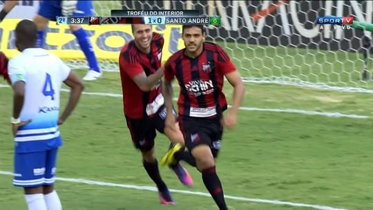 Ronaldo marca, Ituano derrota Santo André e fica perto do título do Interior