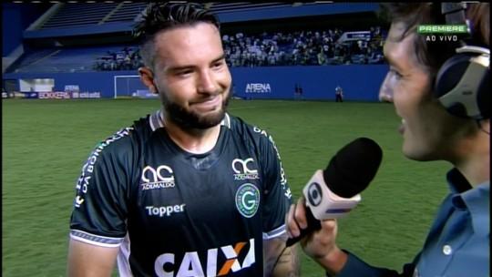 Giovanni comemora acesso do Goiás após elenco ser criticado no início da Série B