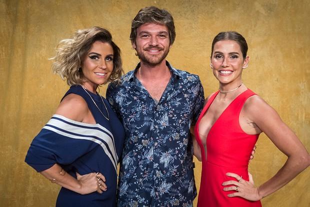 Giovanna Antonelli, Emílio Dantas e Deborah Secco vivem papéis centrais em Segundo Sol (Foto: Divulgação/TV Globo)