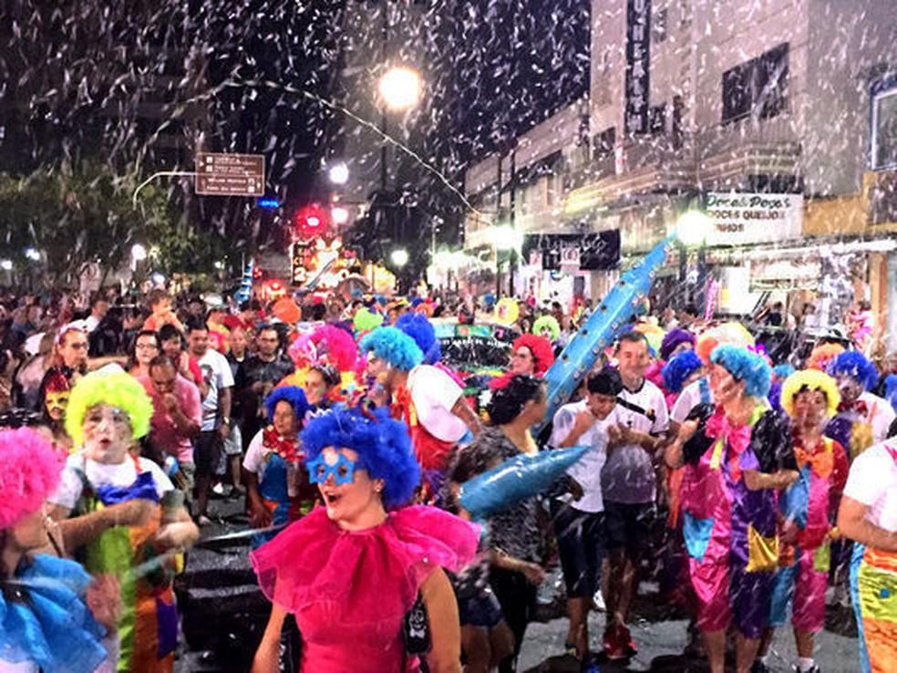 Carnaval não será realizado em Poços de Caldas (MG) este ano por conta da pandemia  — Foto: Prefeitura de Poços de Caldas