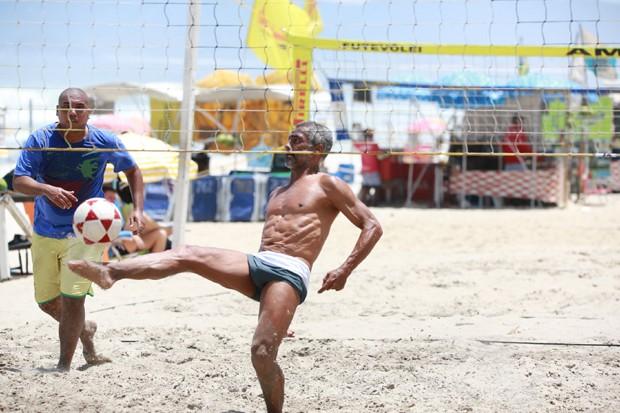 Romário (Foto: Dilson Silva/AgNews)