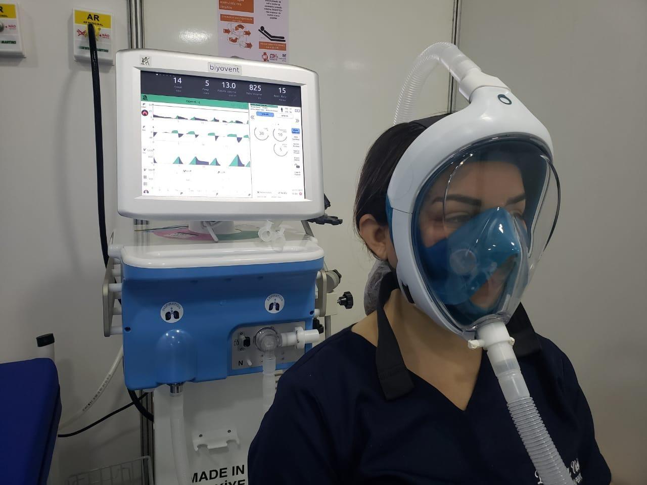 Campanha no AP pede máscaras de mergulho, que serão adaptadas para pacientes com Covid-19