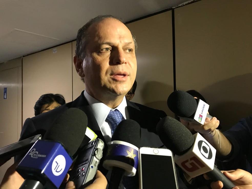 Ricardo Barros (PP-PR) é líder do governo Bolsonaro na Câmara dos Deputados desde agosto e foi ministro da Saúde de 2016 a 2018, durante o governo Temer — Foto: Fernanda Calgaro/ G1