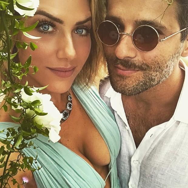 Bruno Gagliasso e Gio Ewbank (Foto: Reprodução/Instagram)