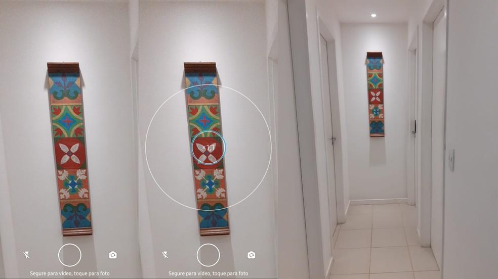 Captura aproximada no WhatsApp mesmo sem aplicar o zoom — Foto: Reprodução/TechTudo
