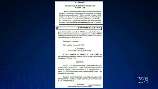 Delegado de Polícia Civil é exonerado no Maranhão