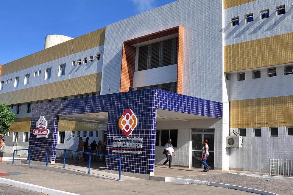 Vítima foi transferida para o Complexo Hospitalar de Mangabeira, o Trauminha, em João Pessoa — Foto: Dayse Euzéio/Secom-JP/Arquivo