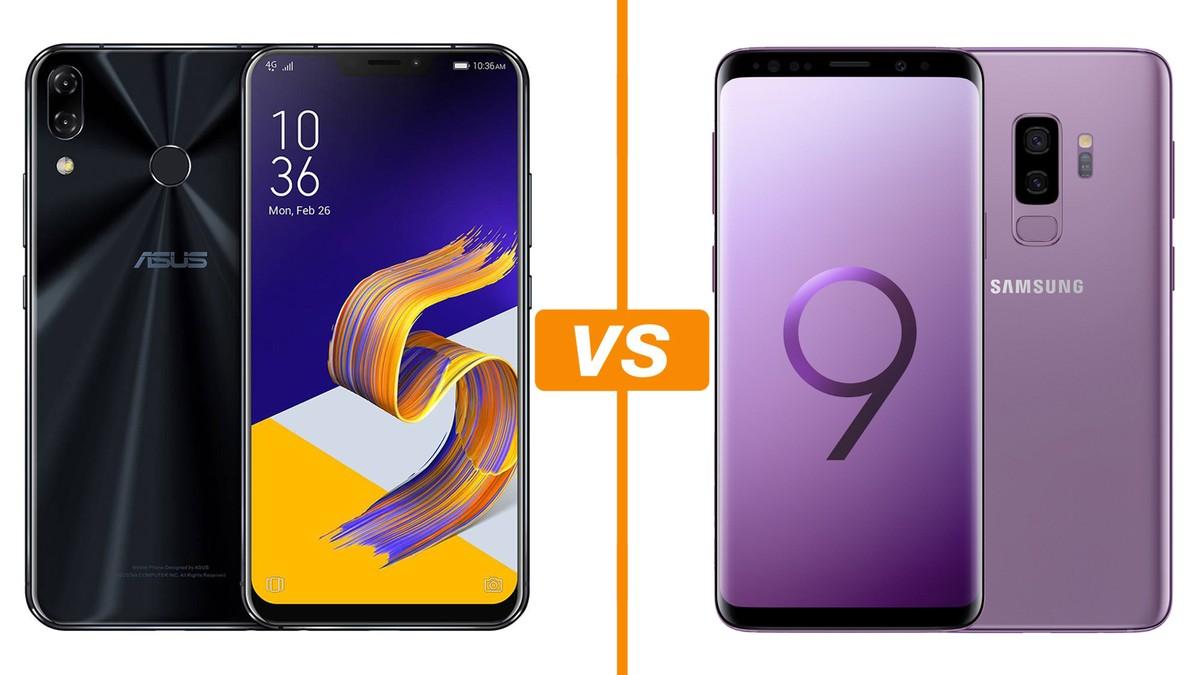 2b0204446 Zenfone 5Z vs Galaxy S9 Plus  comparativo traz ficha técnica e preço ...