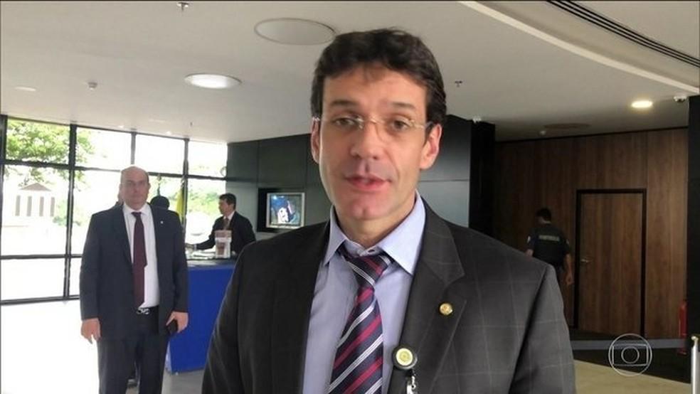 O ministro do Turismo, Marcelo Álvaro Antônio — Foto: Reprodução/TV Globo