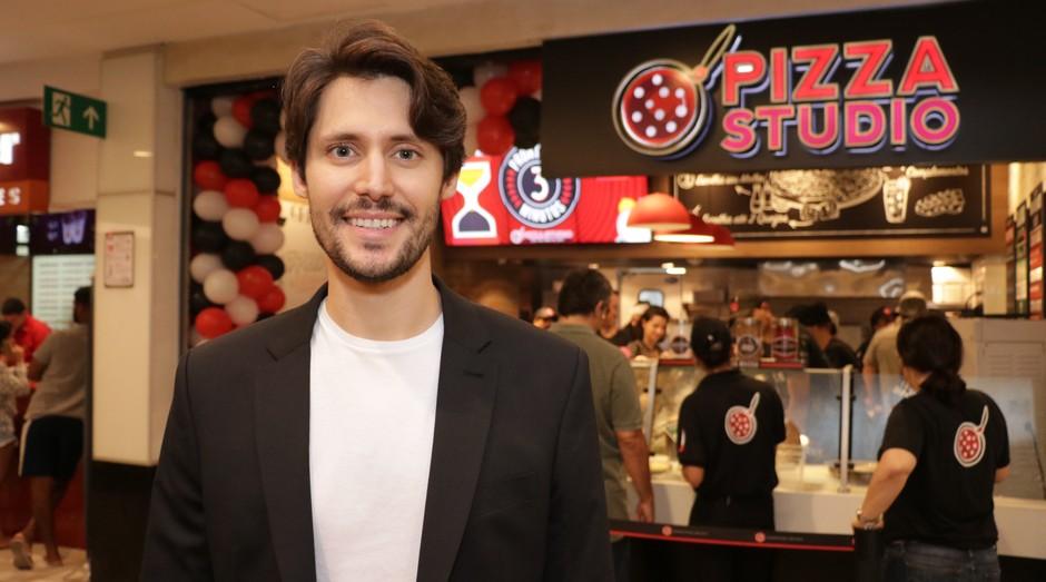 Raphael Mattos, empreendedor responsável por trazer a Pizza Studio ao país (Foto: Divulgação)