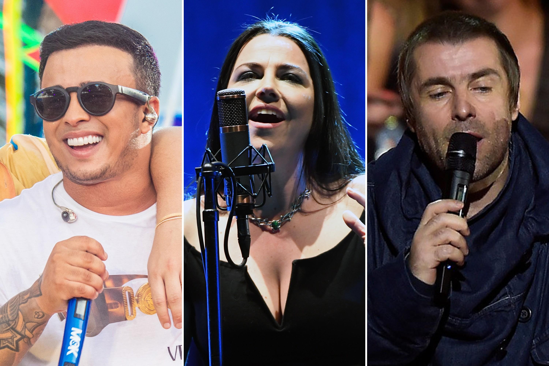 Lives de hoje: Matheus e Kauan, Evanescence, Liam Gallagher e mais shows para ver em casa