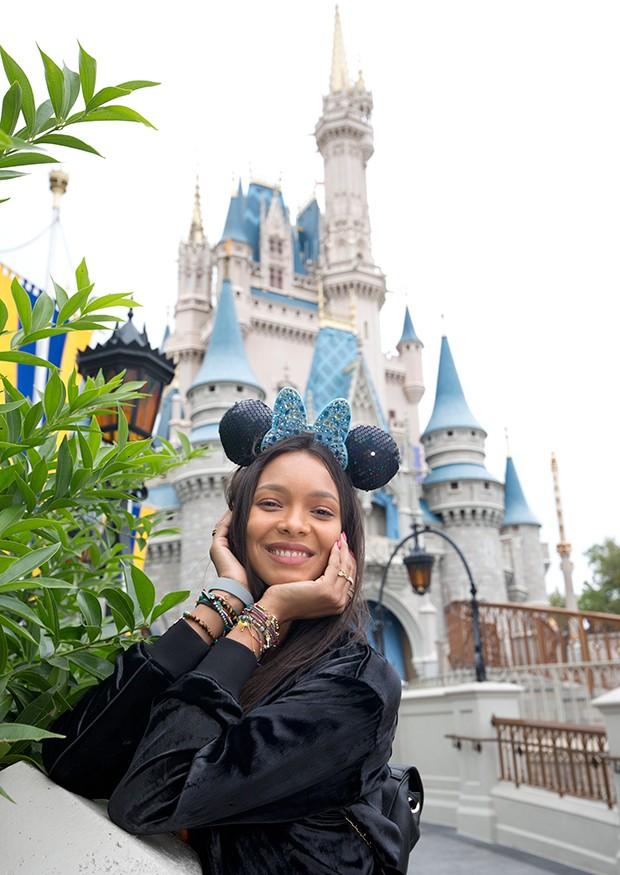 Modelo Laís Ribeiro na Disney (Foto: Divulgação / Walt Disney World )