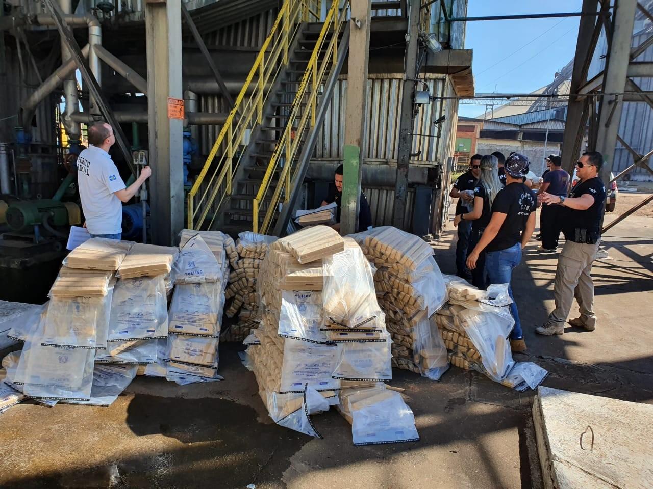 Mais de 700 kg de drogas são apreendidos em seis meses em MT