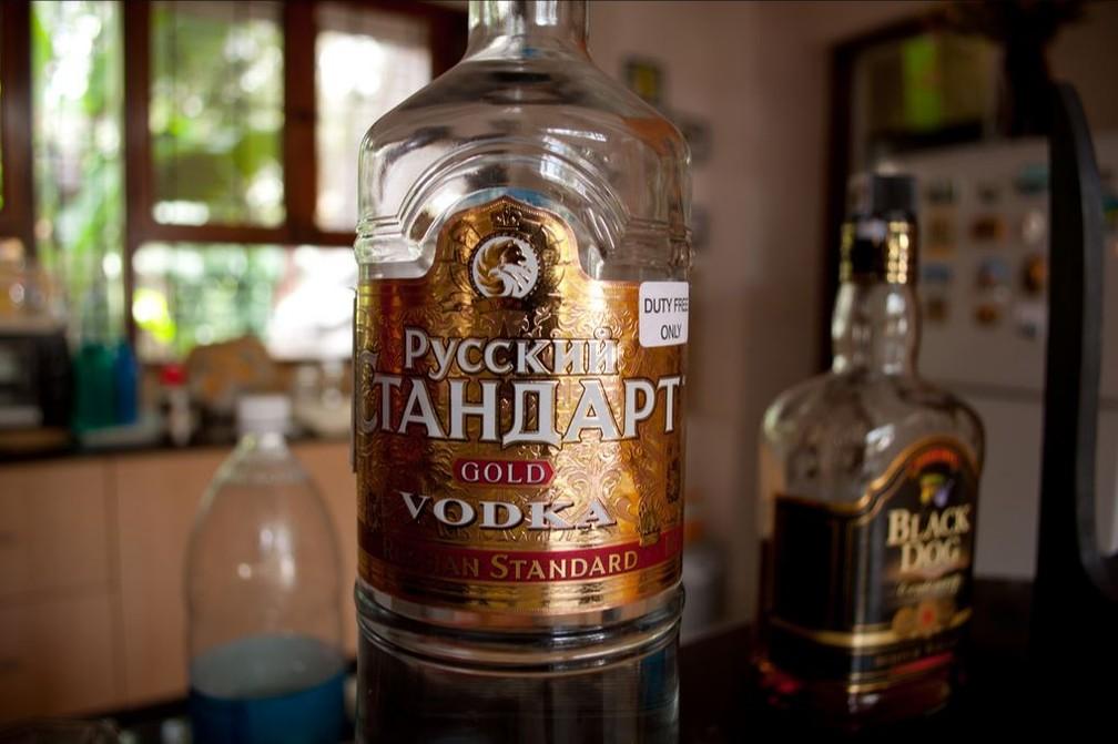 Vodca Russky Standart, marca bastante conhecida do país (Foto: Rishabh Mathur/Flickr/Creative Commons)