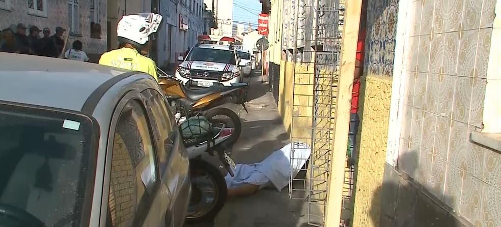 Detento do regime semiaberto é morto a tiros em São Luís — Foto: Reprodução/ TV Mirante