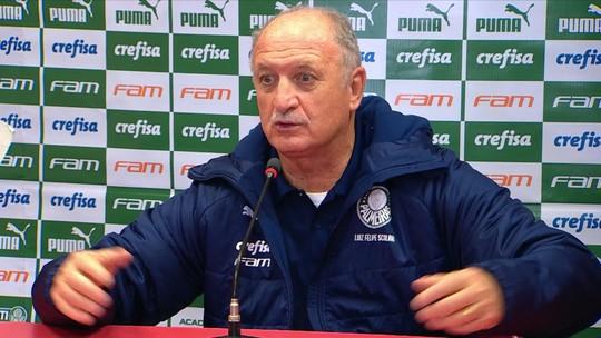 Comentaristas avaliam escolhas de Felipão na eliminação do Palmeiras na Copa do Brasil