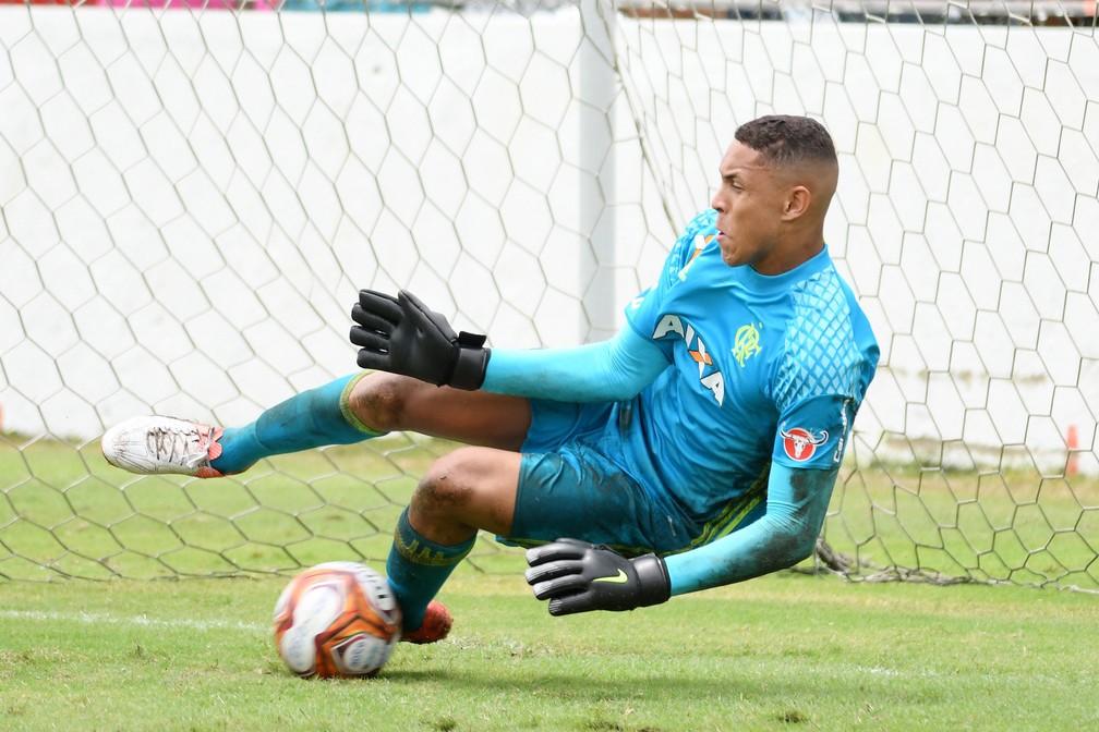 Christian foi herói do Flamengo no Carioca e Copa Nike sub-15 — Foto: Staff Images/Flamengo