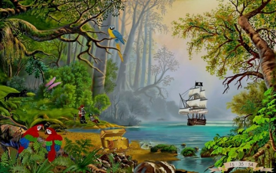 Baixar Imagens Bonitas: Proteção De Tela: Treasures Island