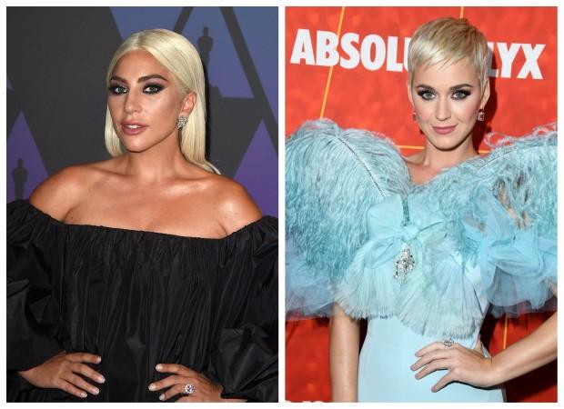 Katy Perry e Lady Gaga (Foto: Getty Images/Reprodução)