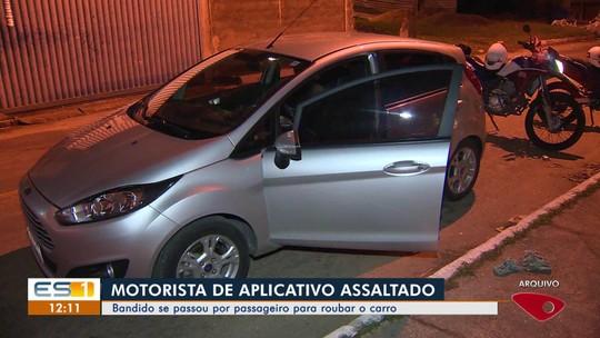 Motorista é assaltado por passageiro em Vila Velha