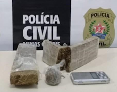 Homem é preso por suspeita de tráfico de drogas em São João del Rei