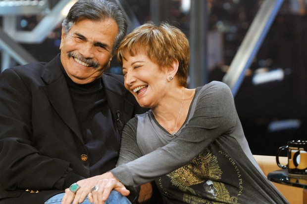 Tarcísio Meira e Glória Menezes (Foto:   TV Globo / Zé Paulo Cardeal)