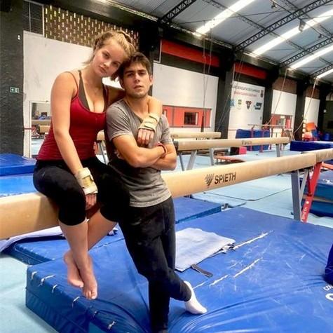Valentina Bulc e Daniel Rangel (Foto: Acervo pessoal)