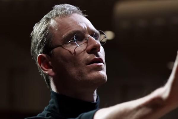 Michael Fassbender em 'Steve Jobs' (Foto: Reprodução)