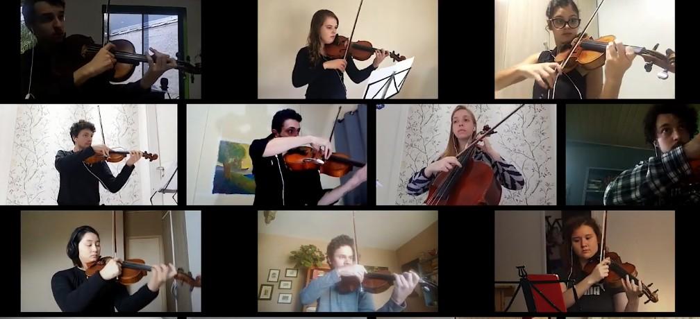 Orquestra da UFRGS homenageia  profissionais da saúde e artistas que morreram por coronavírus; assista
