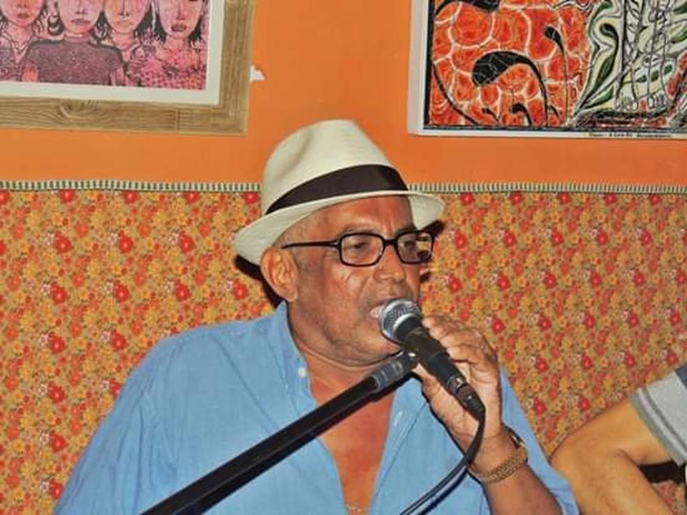 Sambista Agarci dos Santos será homenageado em evento na sexta-feira (12), em Natal — Foto: Divulgação
