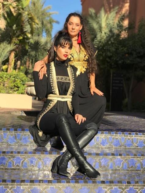 Brendha Haddad e Mônica Carvalho (Foto: Arquivo pessoal)