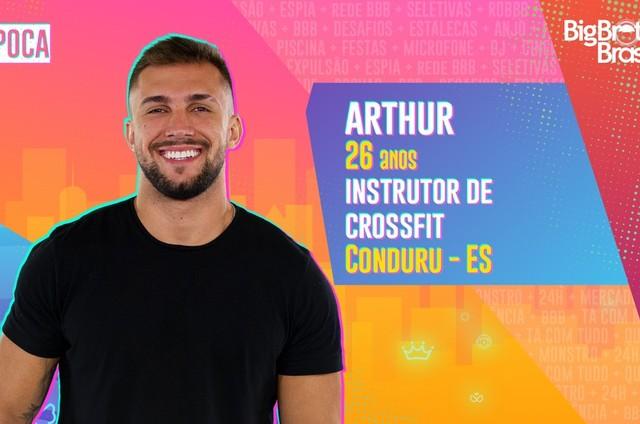 Arthur, participante do 'BBB' 21 (Foto: Reprodução)