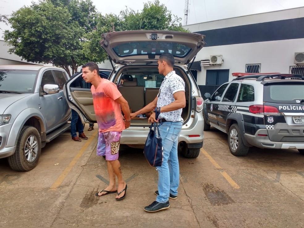 Padrasto e mãe são suspeitos de enforcarem menina com fio de ventilador e simularem suicídio em Sorriso — Foto: Polícia Civil de MT/Assessoria