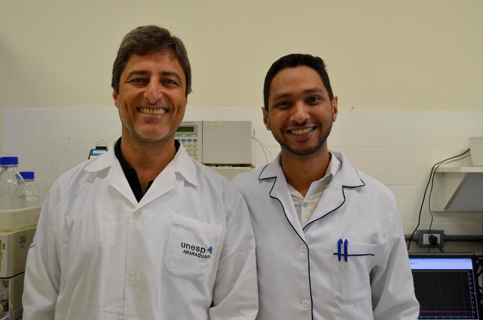 Pesquisadores da Unesp de Araraquara criam 1ª molécula que elimina todas as etapas do vírus da hepatite C. — Foto: Geovana Alves/G1