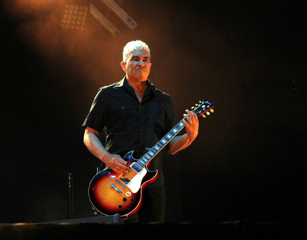 Pat Smear, do Foo Fighters (Foto: AgNews / Wallace Barbosa)