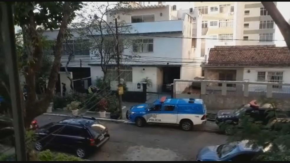 Rua Professor Valadares, onde Witzel morava antes de ser eleito — Foto: Reprodução/TV Globo