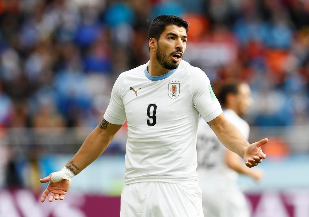 4b88e9ef42 ... Luis Suarez vai chegar a marca de 100 jogos pela seleção e tem chance  de redenção