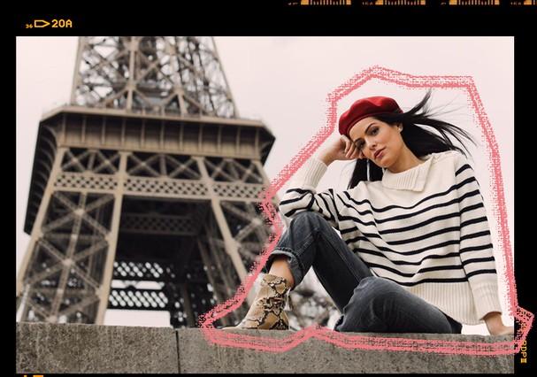 Mariah Bernardes conta sua rotina em Paris   (Foto: Gerson Lírio / Arte: Erik França)