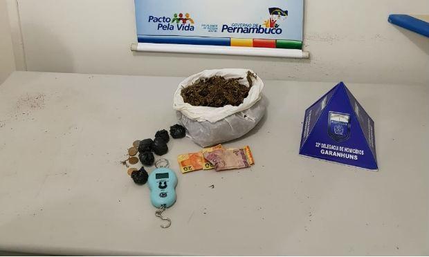 Polícia Civil apreende 10kg de maconha em Garanhuns - Noticias