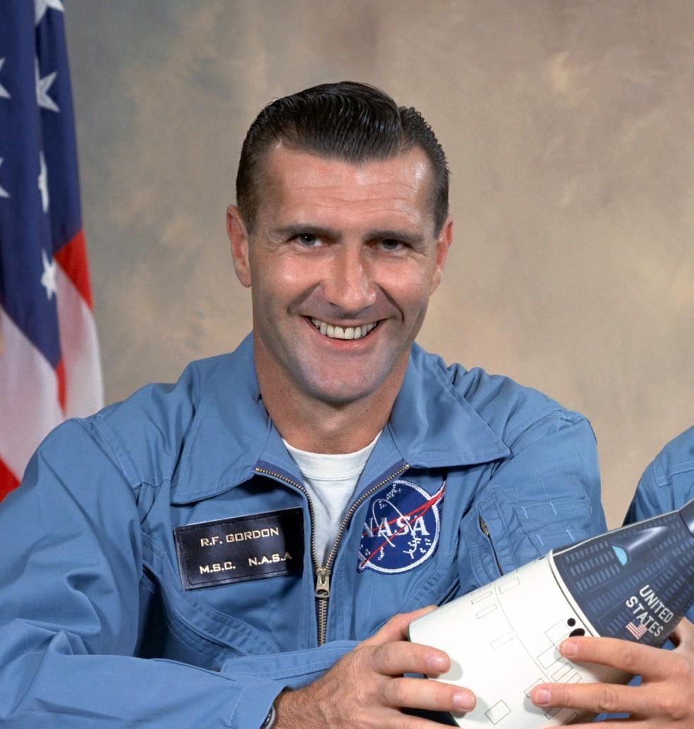Dick Gordon, comandante na Apollo 12 (Foto: Nasa)