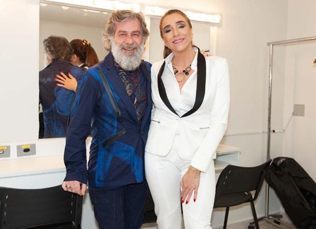 Leopoldo Pacheco e Marisa Orth (Foto: Samuel Chaves/Brazil News)