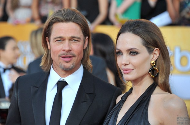 Angelina Jolie e Brad Pitt (Foto: Gettyimages)