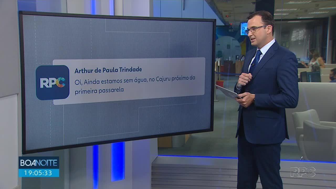 Telespectadores participam do Boa Noite Paraná